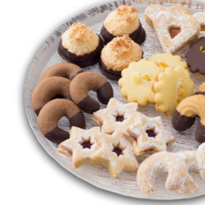 Biscotti misti senza glutine